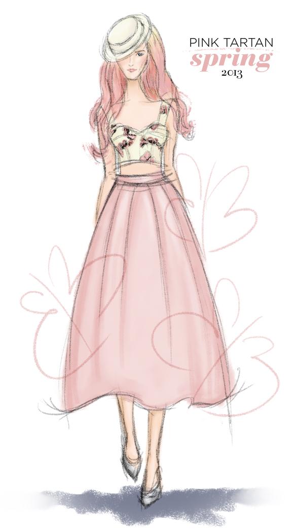 Pink Tartan SS13