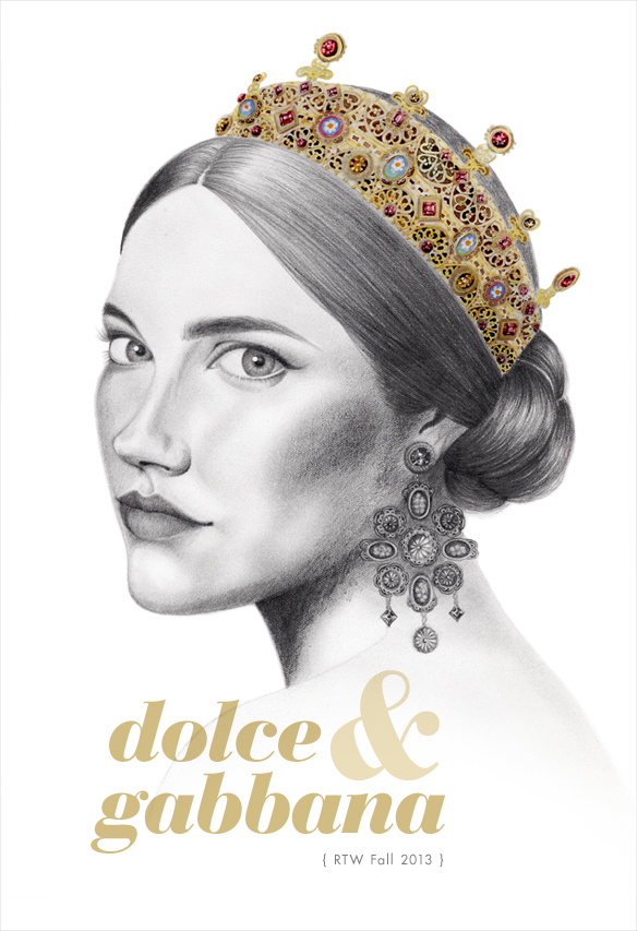 dolce amp gabbana � sketch and pixel